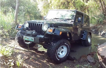 Rickstop Jeep Accessories Home
